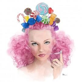 """""""Candy""""- 30x30cm"""