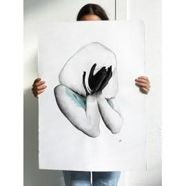Hide - 50x70cm