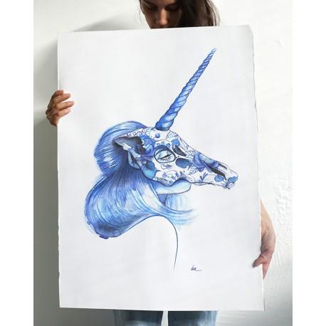 Unicorn - 50x75cm